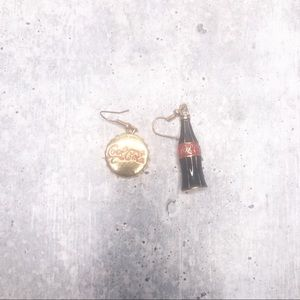 Coca Cola Collectable Fashion Earring Jewel Case
